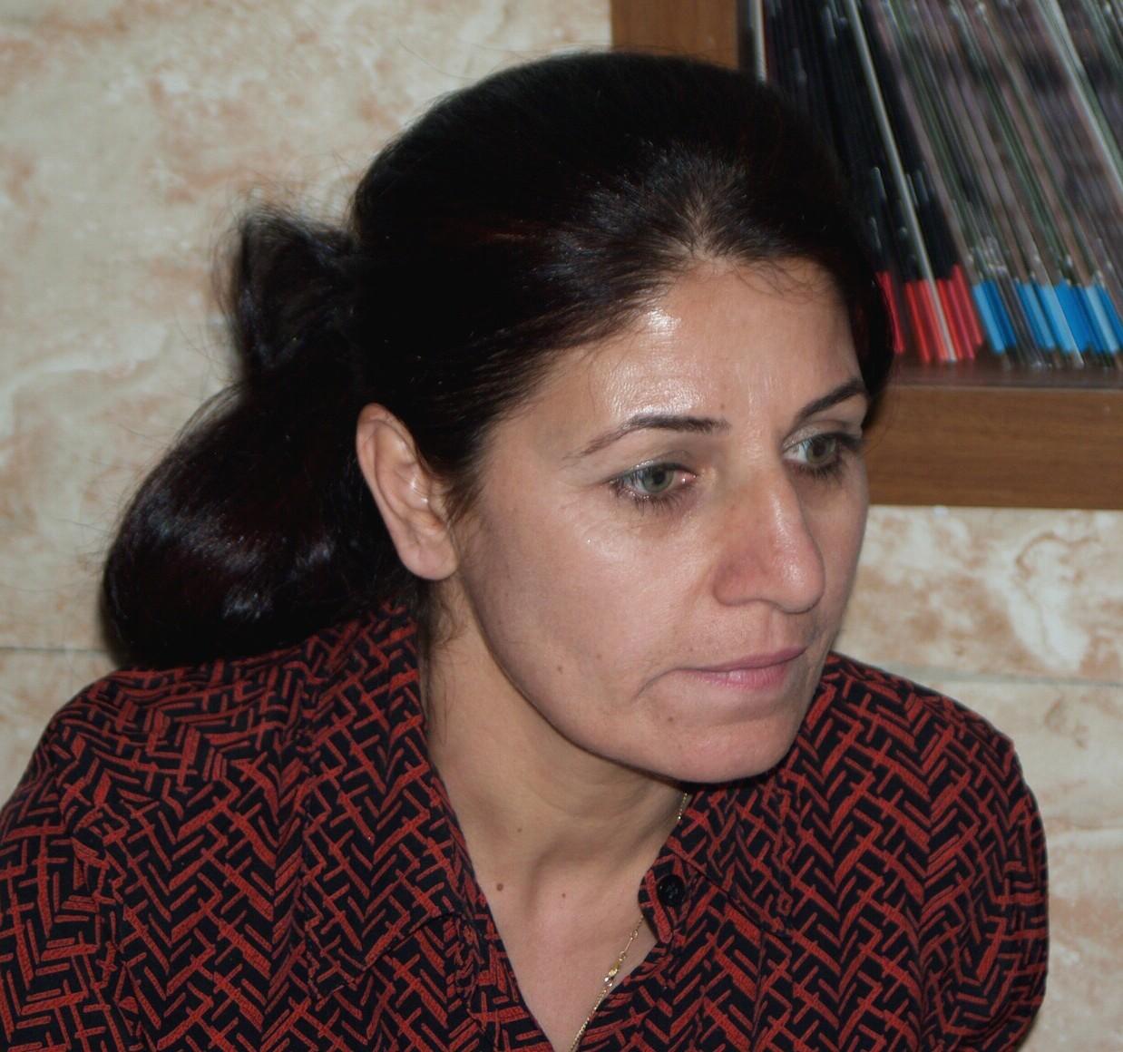 Gola Ahmasd Hama, Wadi Projektkoordinatorin in der Pishder