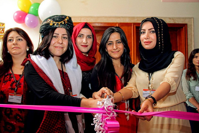 Wadi Dohuk inaugurating the center